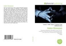 Portada del libro de Galen Strawson