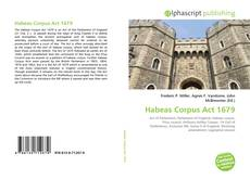 Bookcover of Habeas Corpus Act 1679