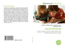 Bookcover of Lexical Similarity