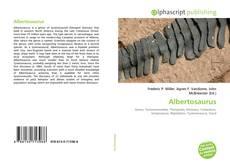 Albertosaurus的封面