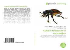 Bookcover of Cultural references to cockroaches