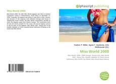 Обложка Miss World 2008
