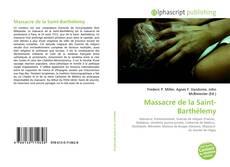 Borítókép a  Massacre de la Saint-Barthélemy - hoz