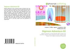 Capa do livro de Digimon Adventure 02