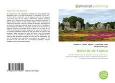 Capa do livro de Henri IV de France