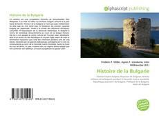 Bookcover of Histoire de la Bulgarie