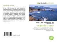 Couverture de Histoire de la Corse