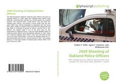 Portada del libro de 2009 Shooting of Oakland Police Officers