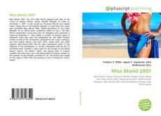 Обложка Miss World 2007