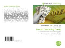 Boston Consulting Group的封面