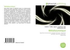 Bookcover of Métaheuristique