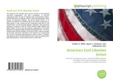 Portada del libro de American Civil Liberties Union