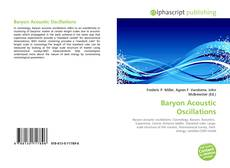 Bookcover of Baryon Acoustic Oscillations