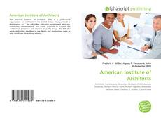 Capa do livro de American Institute of Architects