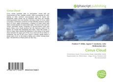 Portada del libro de Cirrus Cloud