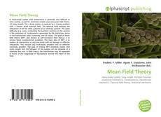 Bookcover of Mean Field Theory