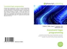 Bookcover of Constraint logic programming