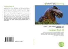 Jurassic Park III kitap kapağı