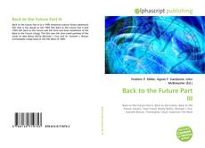 Обложка Back to the Future Part III