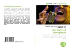 Bookcover of Geri Halliwell Discography