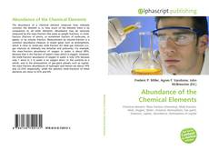Bookcover of Abundance of the Chemical Elements
