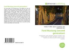 Bookcover of Ford Mustang (second generation)