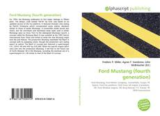 Bookcover of Ford Mustang (fourth generation)