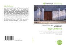 Capa do livro de Baja California
