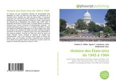 Borítókép a  Histoire des États-Unis de 1945 à 1964 - hoz