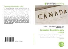 Borítókép a  Canadian Expeditionary Force - hoz
