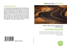 Bookcover of Ford Mustang SSP