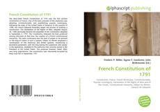 French Constitution of 1791的封面