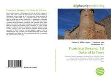 Portada del libro de Francisco Serrano, 1st Duke of la Torre