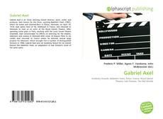 Buchcover von Gabriel Axel