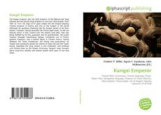 Bookcover of Kangxi Emperor