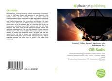 CBS Radio kitap kapağı