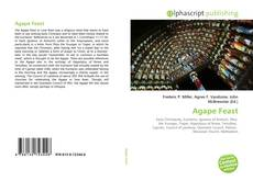 Bookcover of Agape Feast