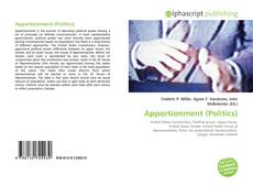 Bookcover of Apportionment (Politics)