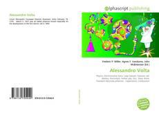 Capa do livro de Alessandro Volta