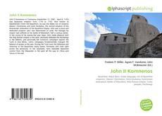 Bookcover of John II Komnenos