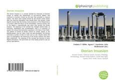 Capa do livro de Dorian Invasion