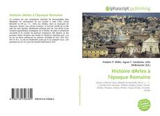 Copertina di Histoire dArles à l'époque Romaine