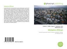 Bookcover of Histoire d'Oran