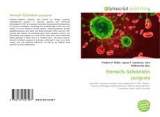 Bookcover of Henoch–Schönlein purpura