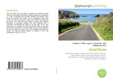 Bookcover of Ford Pinto