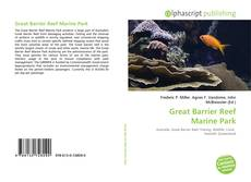 Bookcover of Great Barrier Reef Marine Park
