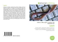 Bookcover of Leech