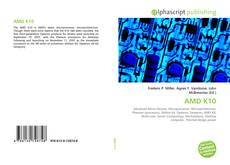 Bookcover of AMD K10