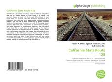 Bookcover of California State Route 125
