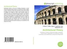 Architectural Theory的封面